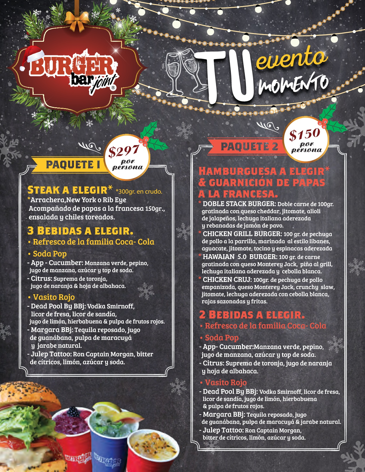 Restaurantes que ofrecen cena de fin de año 2017