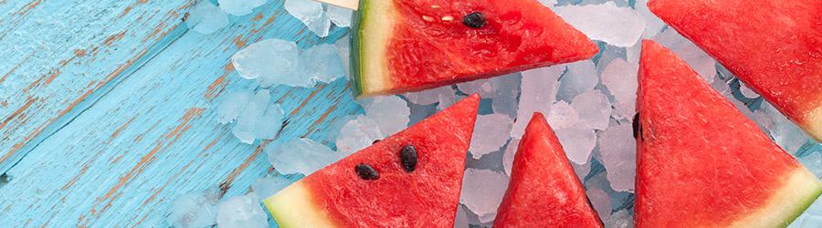 Snacks veraniegos frescos y nutritivos