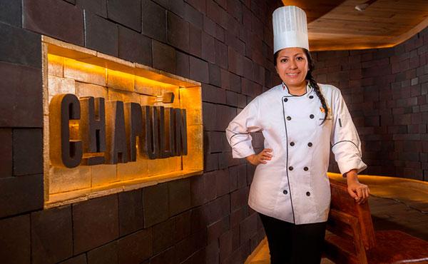 Chef Josefina López, restaurante chapulin