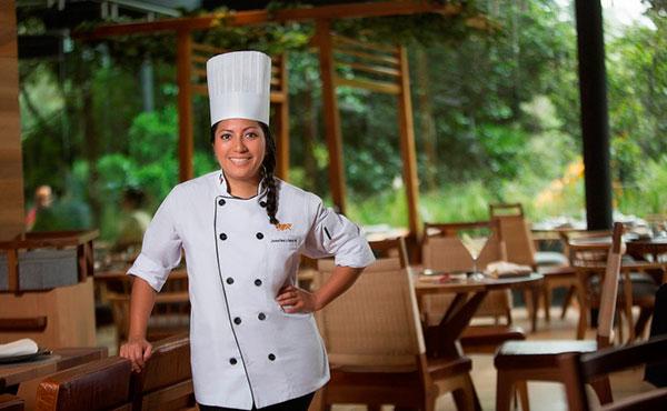 Chef Josefina López , restaurante Chapulin