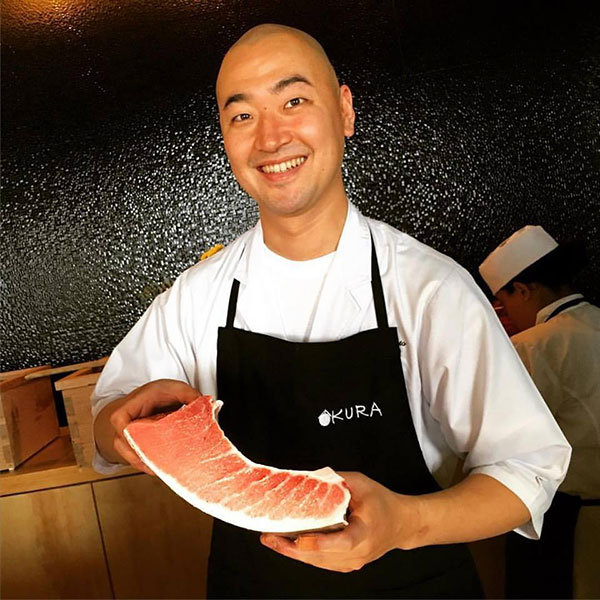 Chef Takeya, restaurante Kura