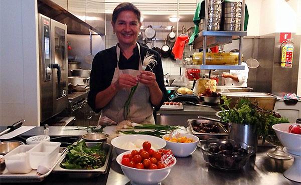Chef Mónica Patiño