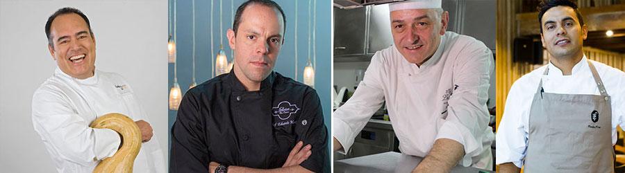 los mejores chefs