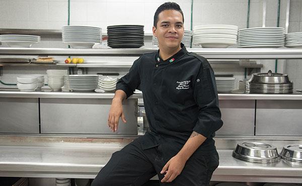 Chef Tonatiuh Cuevas