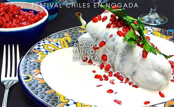 chile en nogada restaurante azul