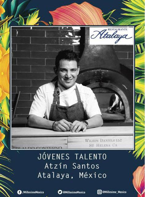 Chef Atzín Santos en queremoscomer.com