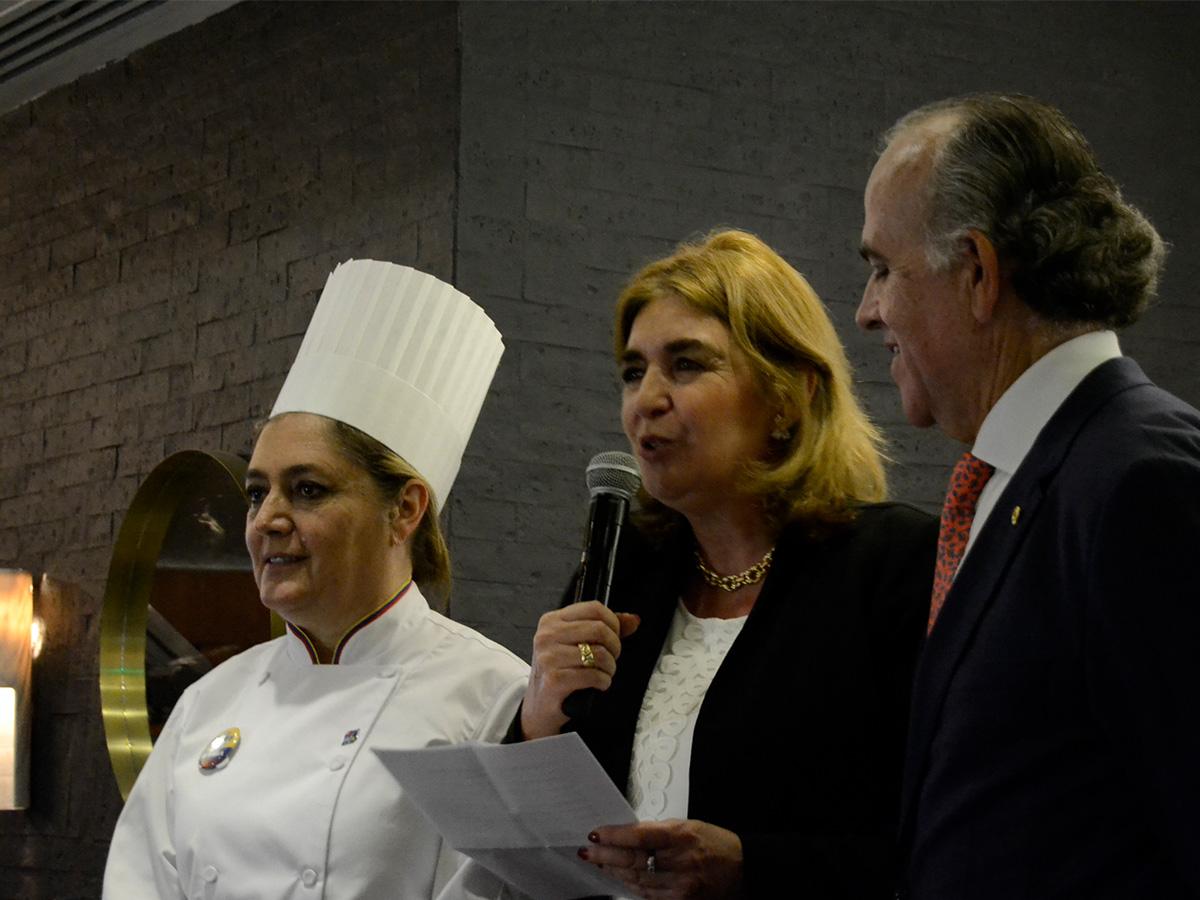 Chef Ángela Gómez