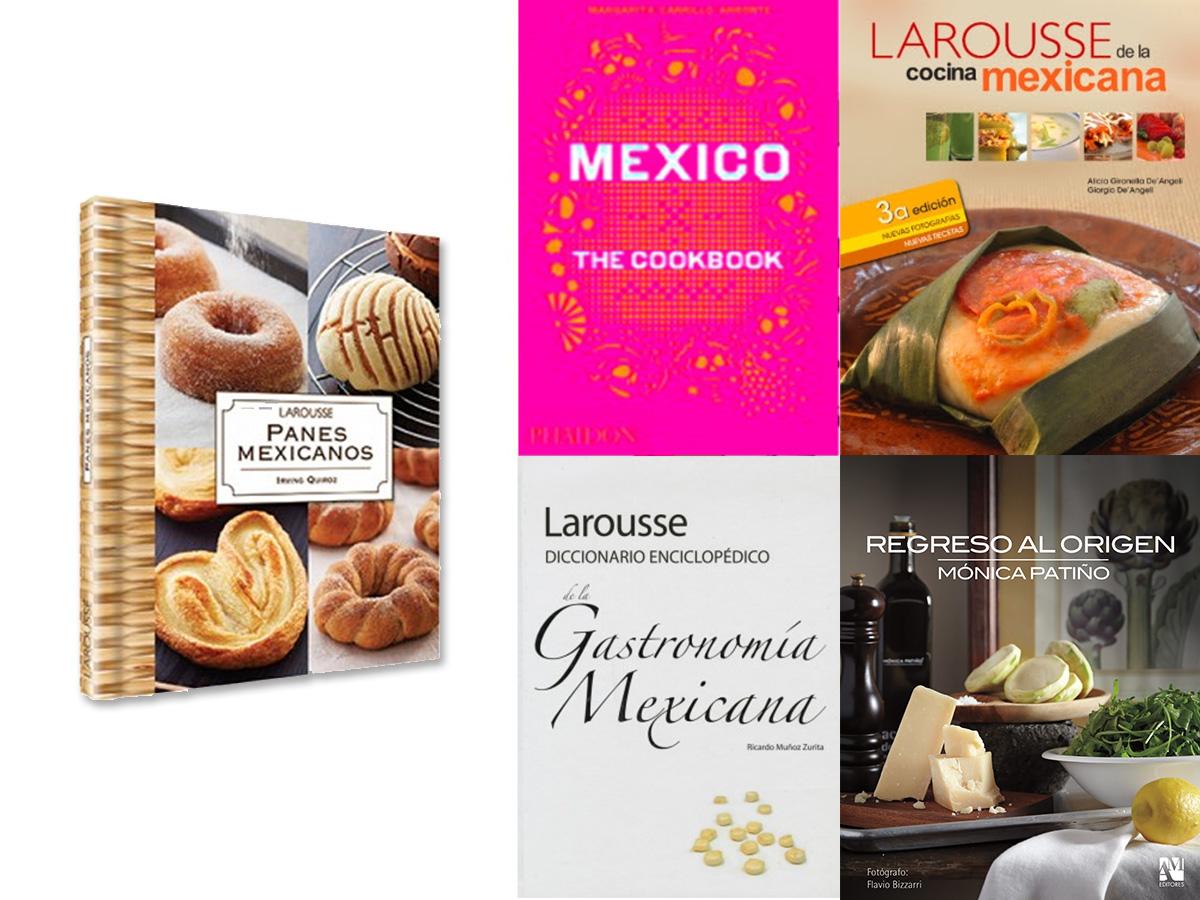 Libros escritos por chefs mexicanos