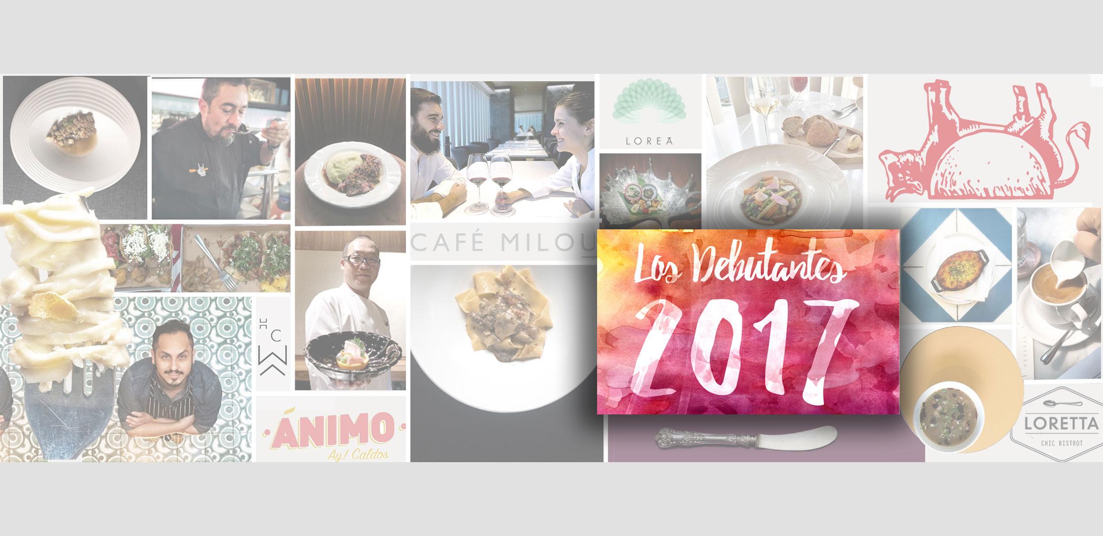 Los debutantes 2017 los mejores nuevos restaurantes de la CDMX