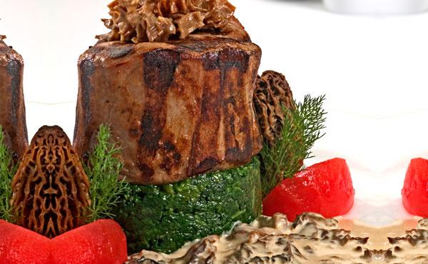 Receta Corazón de Filete en Salsa Morillas
