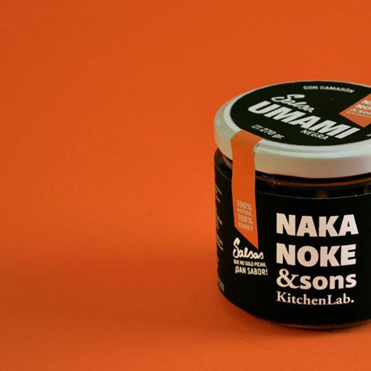 Salsa umami de Nakanoke