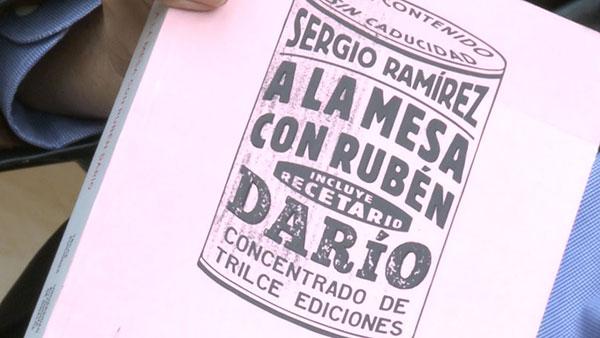 A la mesa con Ruben Darío