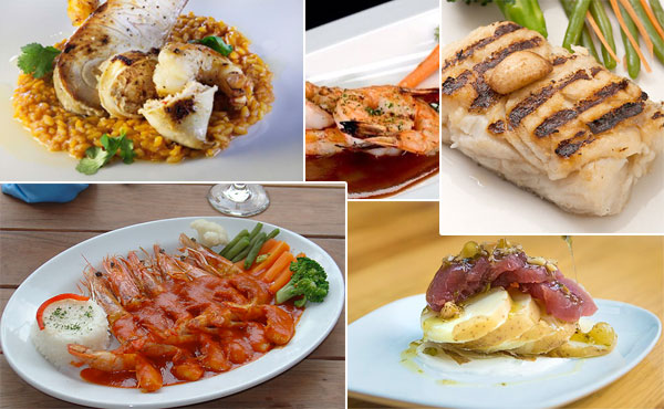 Los mejores platillos con pescados y mariscos for Platos para