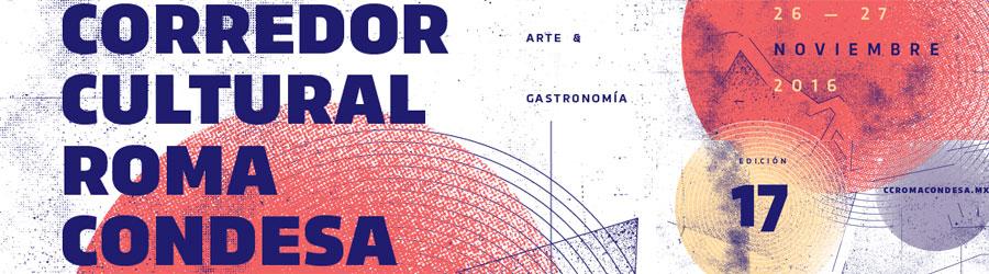 corredor cultural roma condesa