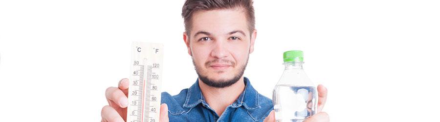 agua para hidratarte
