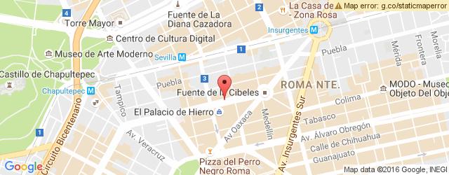 Cafeteria VIPS DURANGO en Condesa Roma VIPS DURANGO