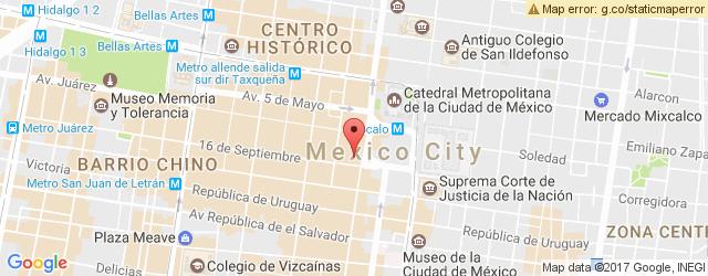Restaurante Terraza Del Gran Hotel Ciudad De México En Centro
