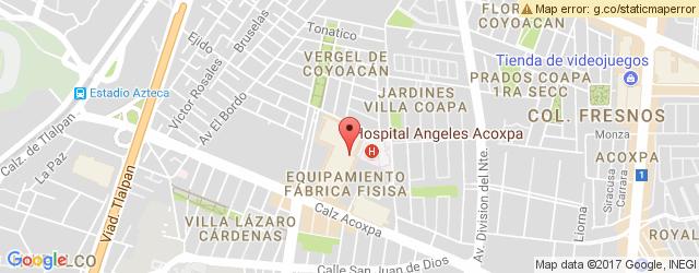 Restaurante CALIFORNIA PIZZA KITCHEN, PASEO ACOXPA en Coapa / ...