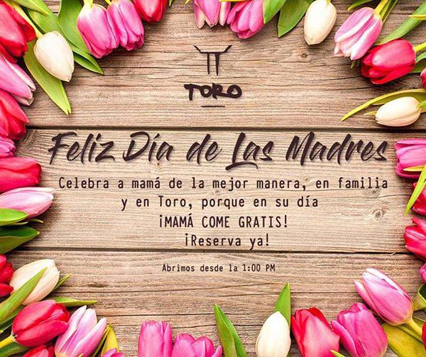Restaurantes Para Festejar A Mamá Este 10 De Mayo En Cdmx