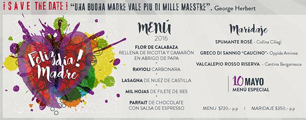 Restaurantes Para Celebrar El Día De Las Madres