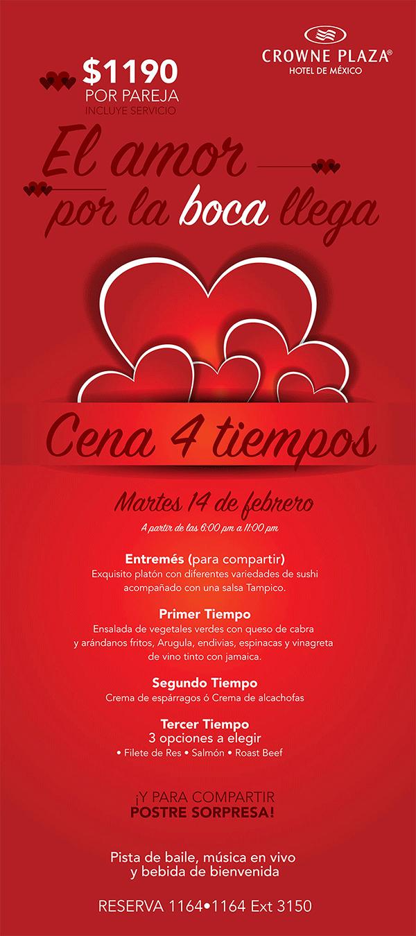 Restaurantes Para Celebrar El 14 De Febrero En La Ciudad De
