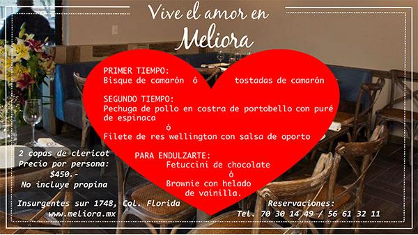 Meliora en queremoscomer.com
