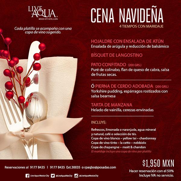 Restaurantes que ofrecen cena de navidad en la ciudad de - Menu de cenas navidenas ...