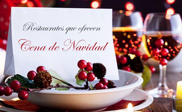 restaurantes que ofrecen cena de navidad