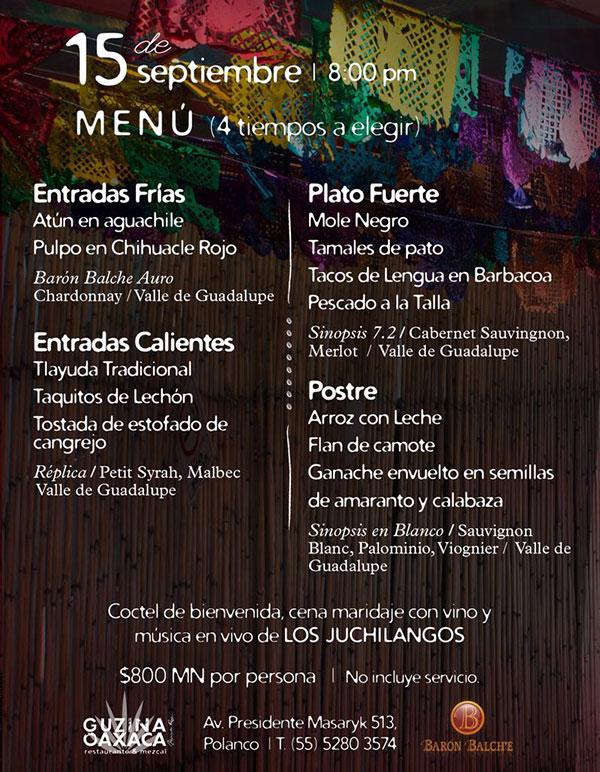 Restaurantes para celebrar la gran noche mexicana 2016 for Sanborns orizaba