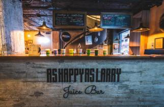 As Happy As Larry: un juice bar lleno de sabor