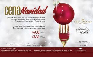 Restaurantes que ofrecen cena de navidad en la ciudad de - Cenas para navidad 2015 ...